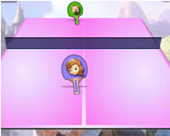 Sofia the first table tennis hercegn�s j�t�kok
